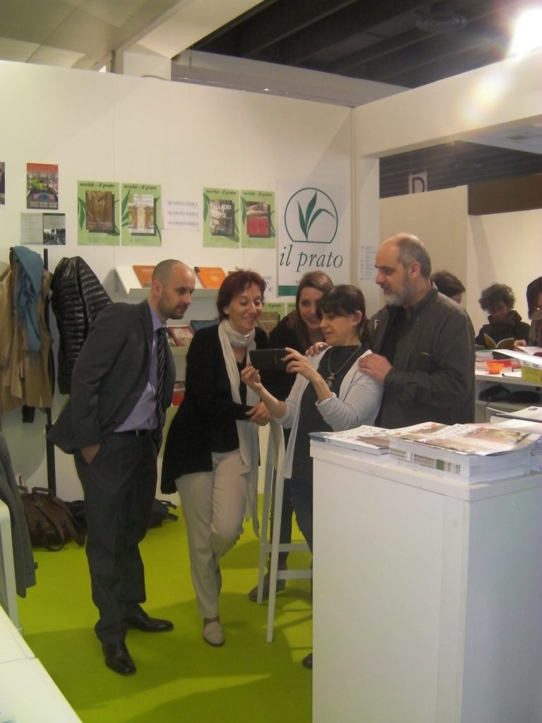 "Salone del restauro 2016 - Stand ""Il Prato Publishing Housa"""